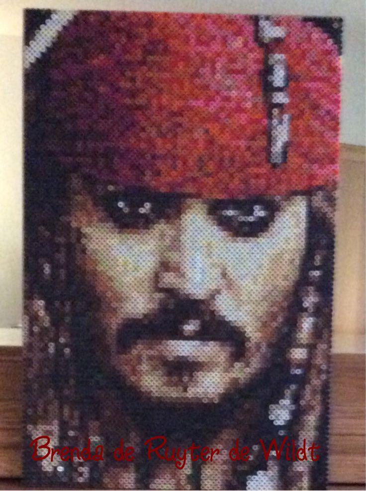 Jack Sparrow 30x45 cm 5400 strijkkralen