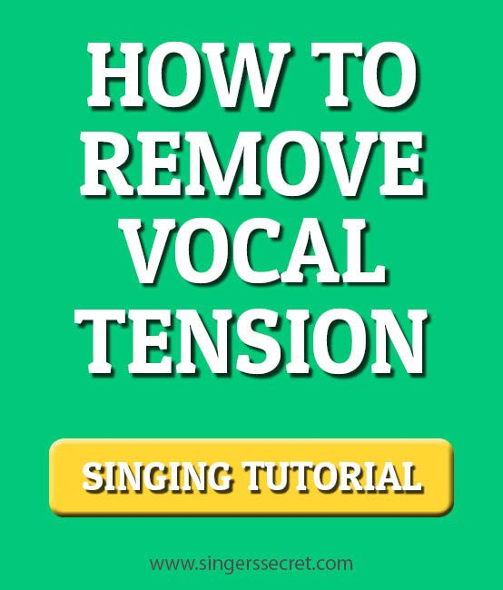 An indepth singing tutorial on how to reduce vocal tension and sing without straining. http://singerssecret.com/how-to-sing-without-straining/ #singing #singingtips