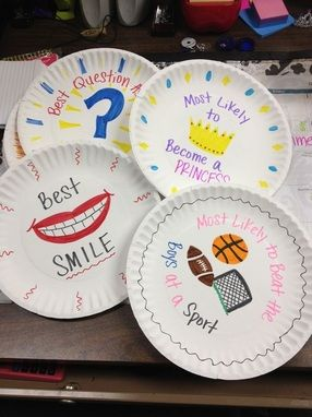 PAPER PLATE AWARDS!