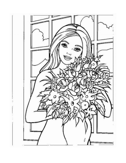 41 best Barbie Coloring images on Pinterest Barbie coloring pages - best of boy barbie coloring pages