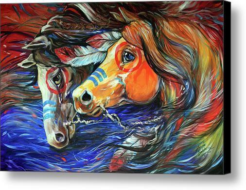 navajo war horse acrylic painting - Google Search