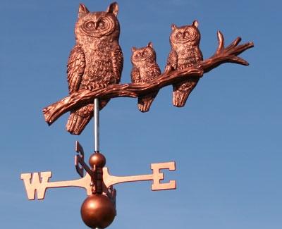 Owl weather vane                     ****