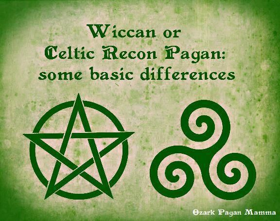 Wiccan or Celtic Paganism: Some Basic Differences - Although I respect all beliefs, and I feel it is alright to use some Wiccan terms and ideas in Pagan practices (especially if, like me, you celebrate Sabbats and Esbats with a group of varied and eclectic witches,) it is still important to understand the differences!
