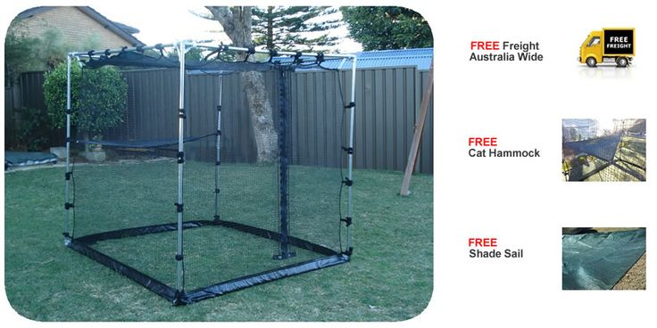 These seem to be a great value option for cat owners in the yarra ranges shire, 24 hr curfew coming up soon!  $399 including delivery.........