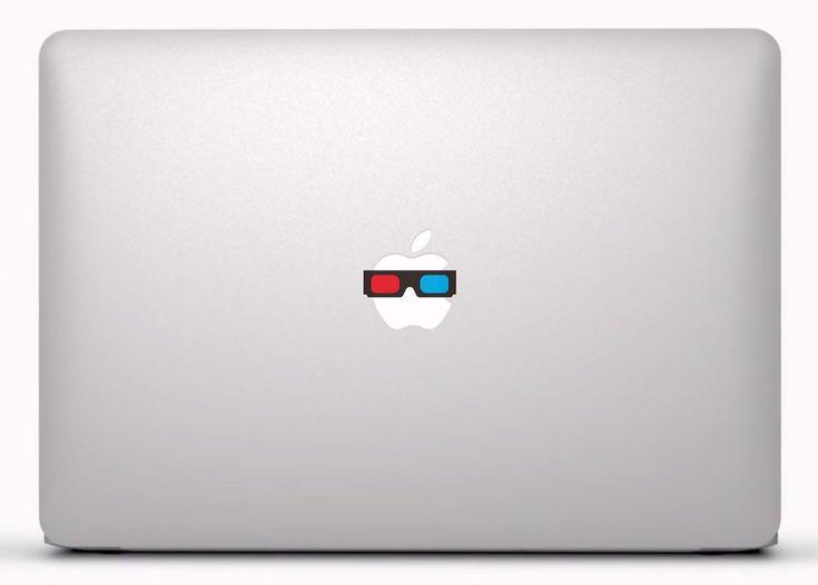 Pegatinas: Gafas 3D Vinilo, pegatina, adhesivo para portátil, Mac, o Macbook. #vinilosportatil  #vinilosmac #vinilosmacbook
