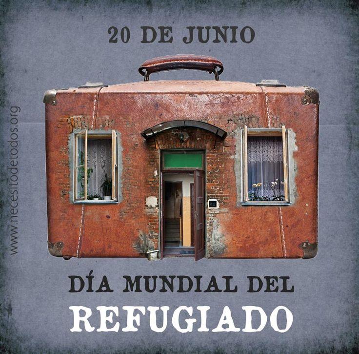El 20 de junio se celebra el Día Mundial de los Refugiados establecido el 4 de diciembre de 2000 por la Asamblea General de la Organización de las Naciones Unidas (ONU). Los refugiados son las pers…