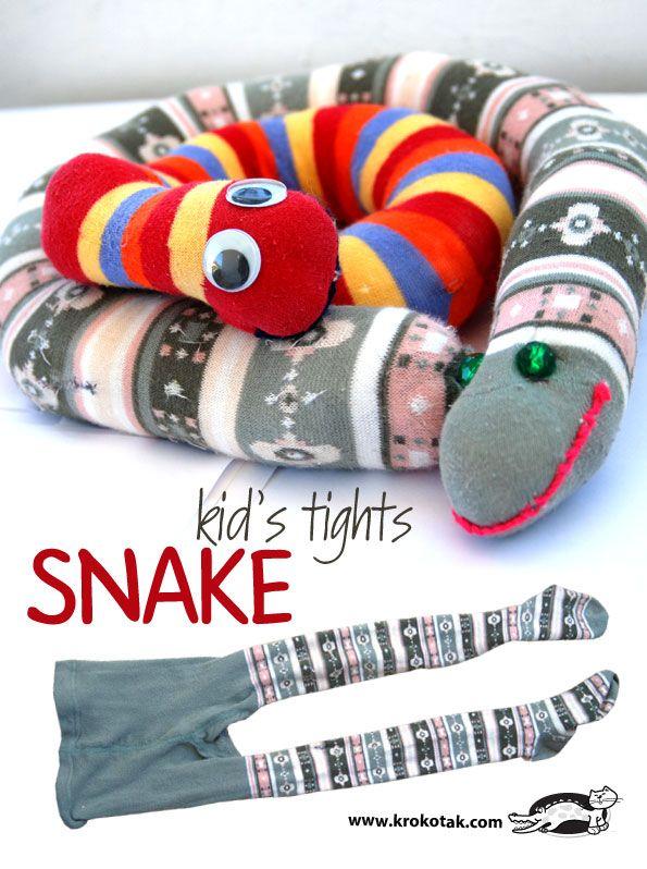 Kid's Tights SNAKE