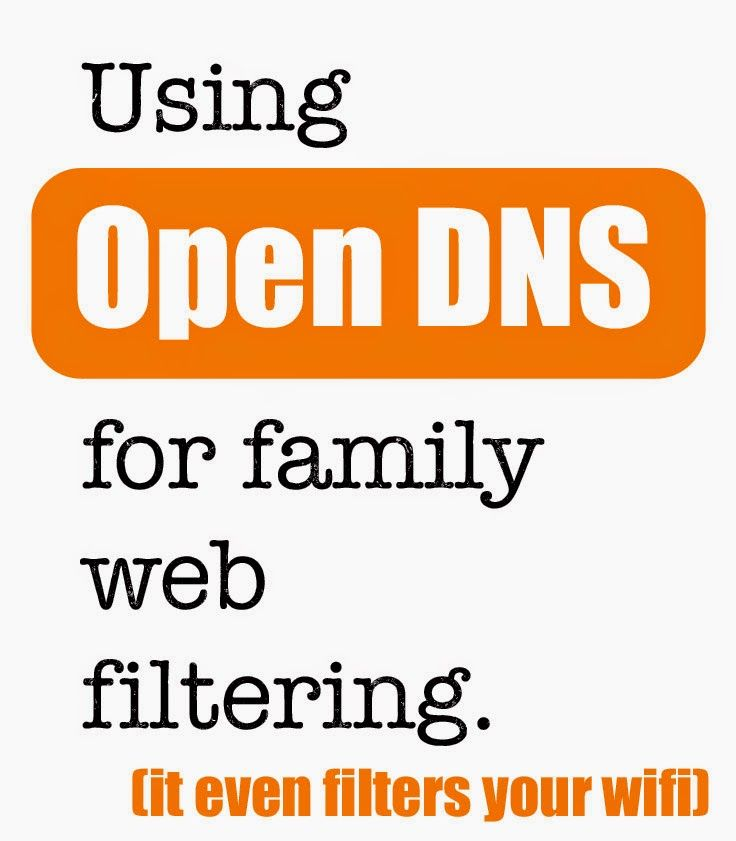 A Free Family Internet Filter with Open DNS - Pulling Curls