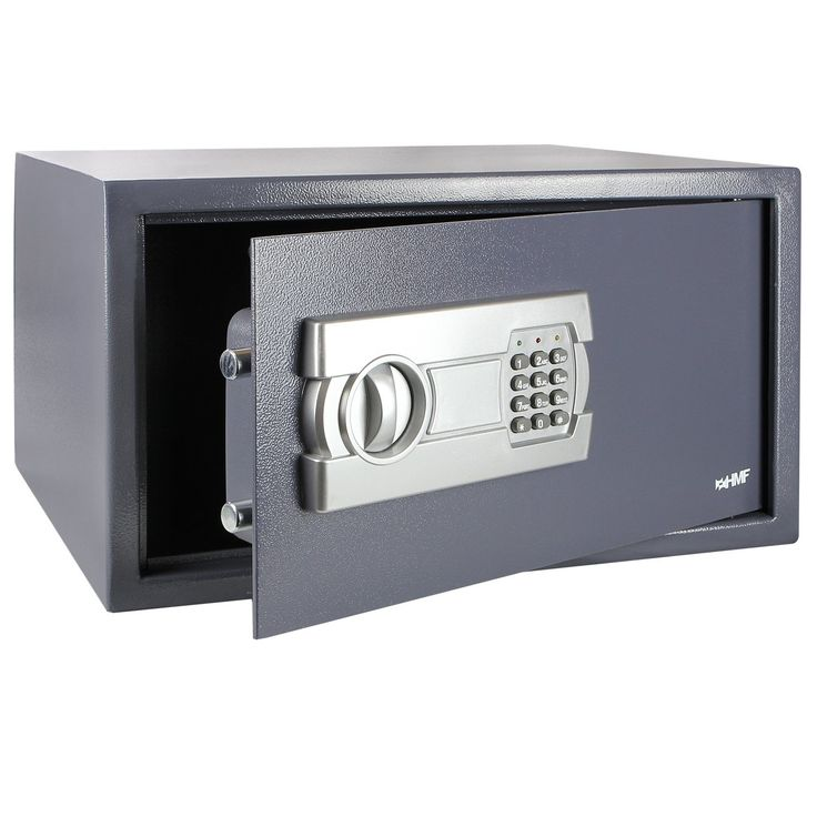 HMF Tresor passend für 15 Zoll Laptop und Ordner, Möbeltresor Laptopsafe Safe 450 x 250 x 365 mm: Amazon.de: Bürobedarf & Schreibwaren