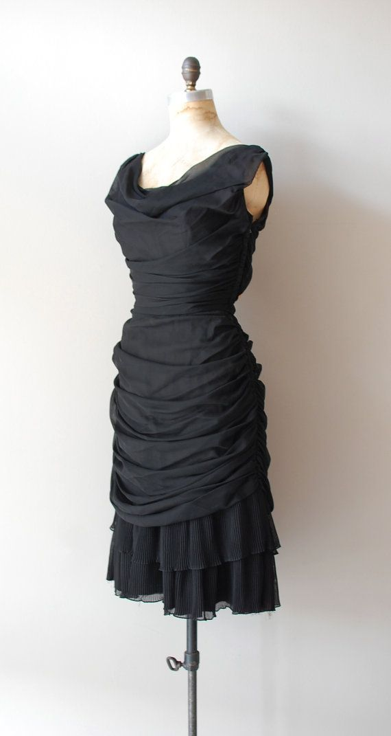 1950s dress / 50s dress / Embraceable You by DearGolden on Etsy, $188.00