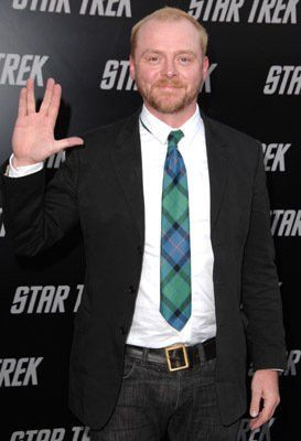 Simon Pegg at event of Star Trek