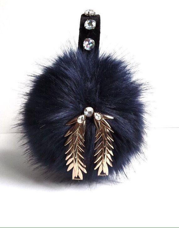 chanel 3 faux fur earmuffs/ear muffs/scream by AprilDelouvre