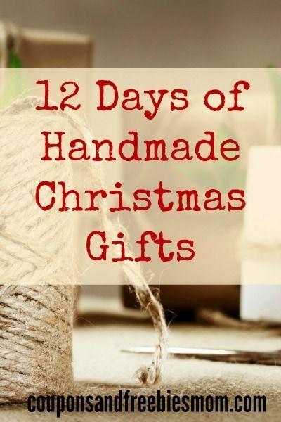 Handmade Christmas Gifts 12 Simple Homemade Holiday