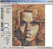 mazaika    photo mosaic software free trial OR buy $ 49.95