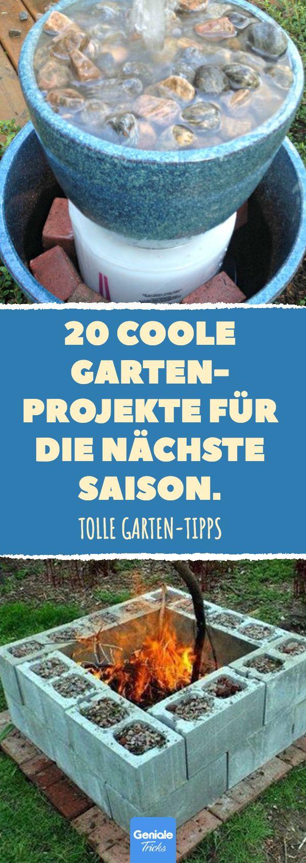 20 coole Gartenprojekte für die nächste Saison.