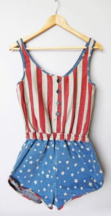 4th of July Romper