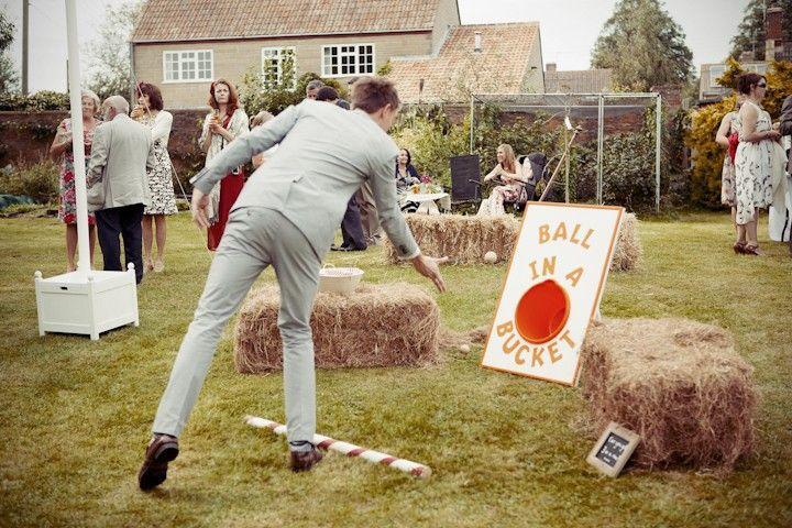 makin it fun....Lindsay and Jack's Village Fete Wedding by Belinda McCarthy