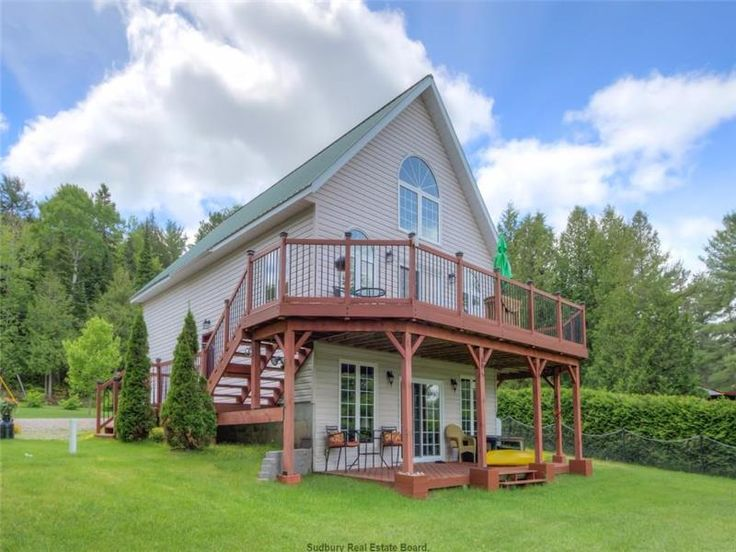 Exceptional Waterfront Home Located on Clear Lake - Espanola Cottage for Sale - FS-22773