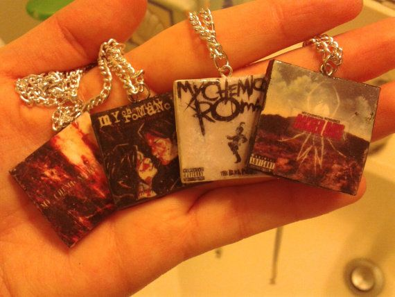 Fall Out Boy Album Cover NECKLACES by SavvyShine on Etsy