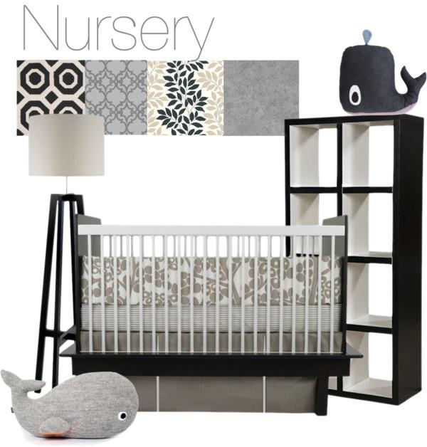 Whale Nursery Whale Nursery Baby Room Decor Nursery