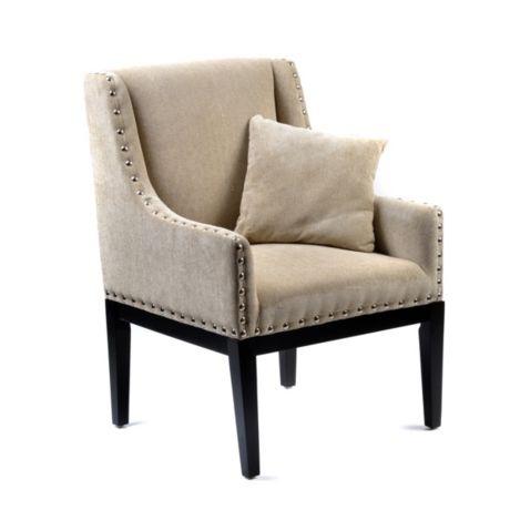 Gracie Gray Chevron Chair