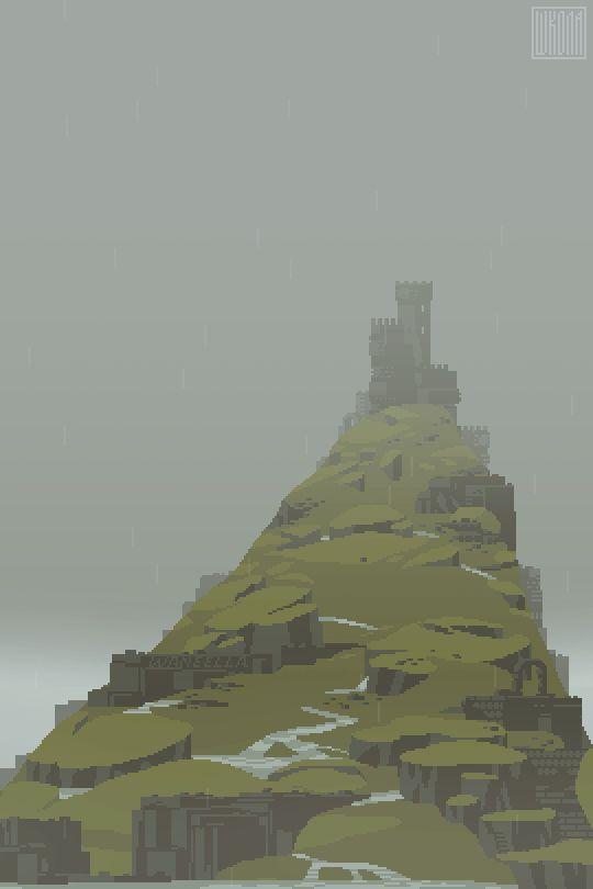 Les créations animées de Waneella, pixel artiste | Webdesigner Trends