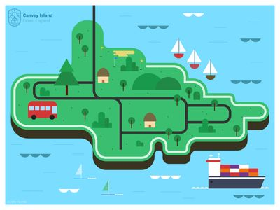 Canvey Island Map