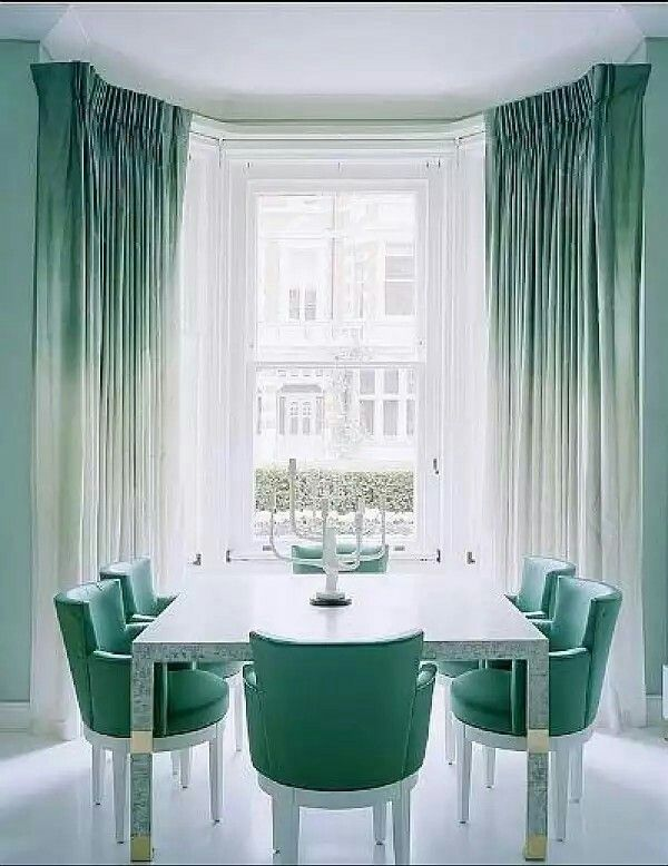 I Love This Color Scheme. Window Treatments   Ombre Accents Any Interior  Can Pull Off   Photos