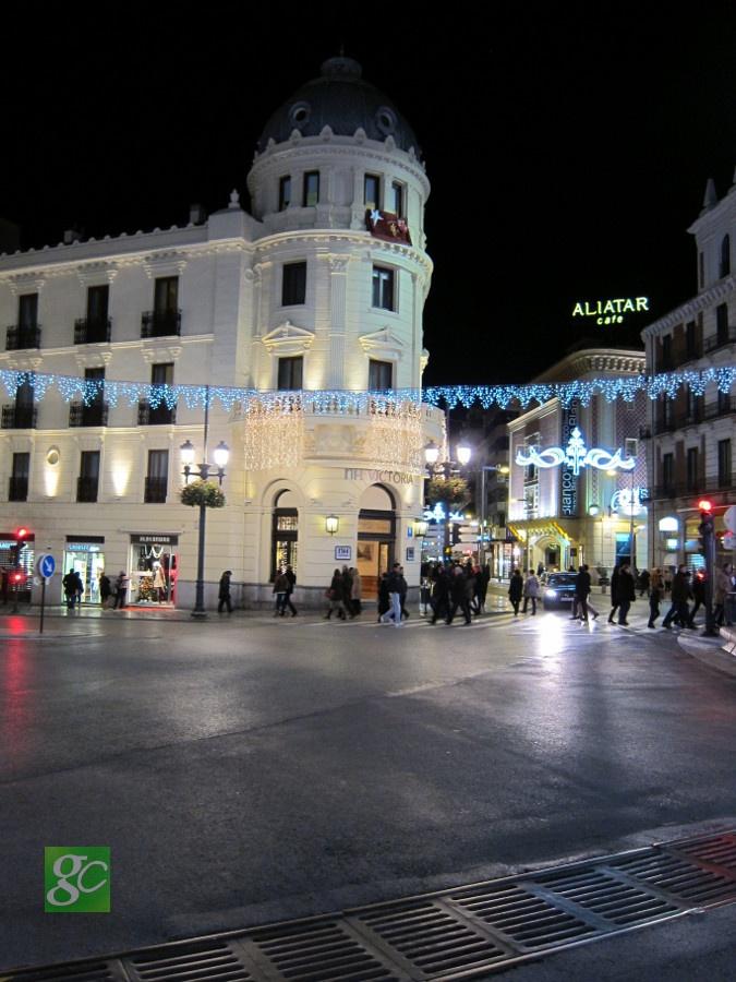 Decoración navideña de Granada