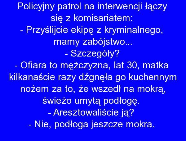 Policyjny patrol - Fishki.pl na Stylowi.pl