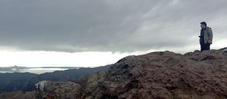 Alceu Foto 3- Camino a Farellones.