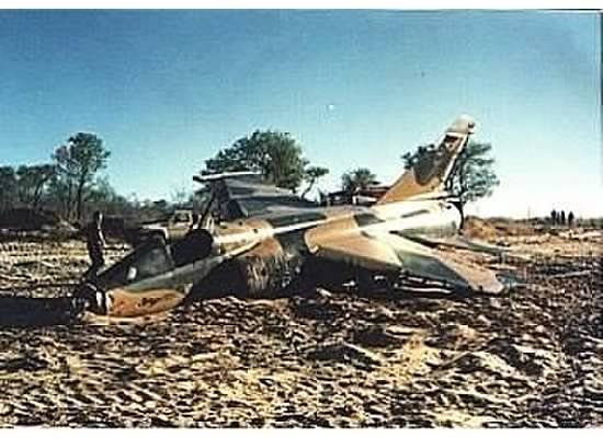 South African French Mirage F1 CZ, 1987, Angola.