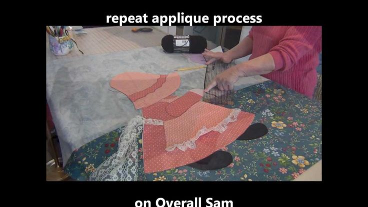 How To Make Quick Easy Sunbonnet Sue Amp Overall Sam Baby