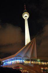 Berlin Fernsehturm Restaurant In Alexanderplatz