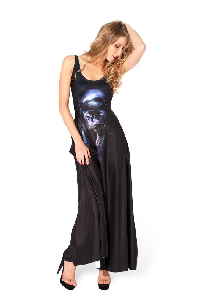 Panther Maxi Dress - XS - Sample