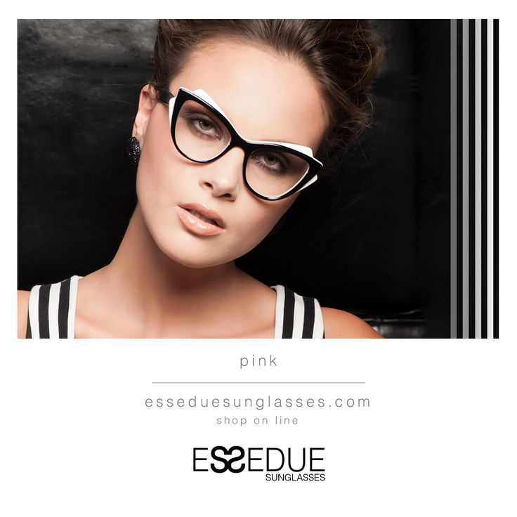 Black & White By #PINK Model  #StreetStyleCapsule of #ESSEDUE.  It's Time of #Design. It's Time of #MIDO : Hall 2 - Booth M 37 - N 42