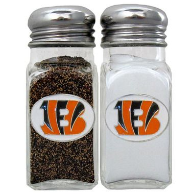 Cincinnati Bengals Salt & Pepper Shaker