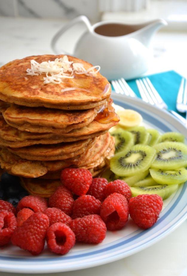 easiest flourless banana pancakes