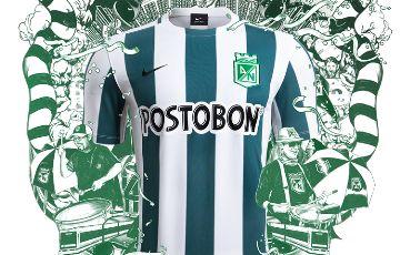 Atlético Nacional 2015 Nike Home Kit