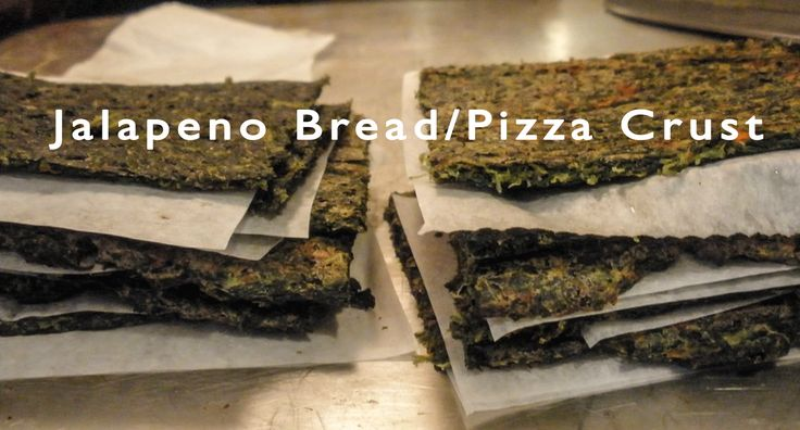 Jalapeno Bread/Pizza Crust Recipe
