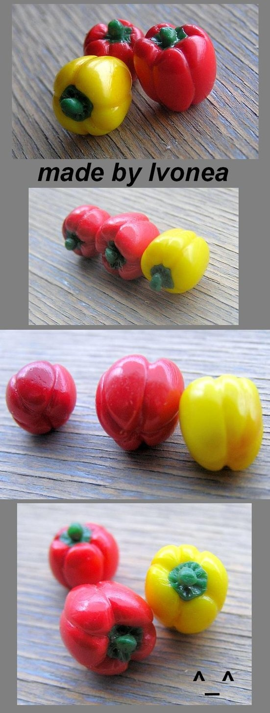 Fimo paprika/peppers