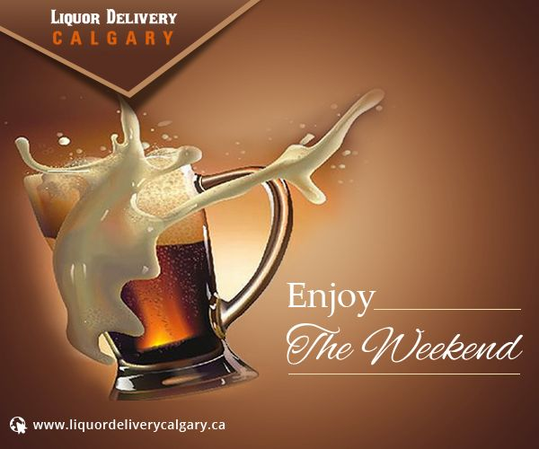 Planning something unconventional to spend this weekend? Sip on fresh and chilled liquor for a laid-back weekend leisure.  For order call: 403-968-9696 or visit http://www.liquordeliverycalgary.ca  #LiquorDelivery #HappyWeekend