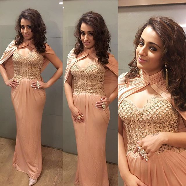 Trisha took away the best actress award last night along with our breath ❤️…