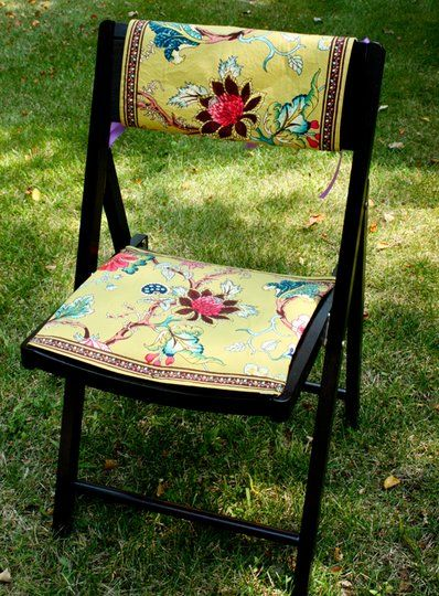 59 best images about upcycled foldable chairs on Pinterest