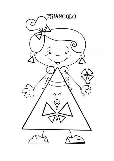 Menta Más Chocolate - RECURSOS PARA EDUCACIÓN INFANTIL: Dibujos de FORMAS GEOMÉTRICAS (Vocabulario)