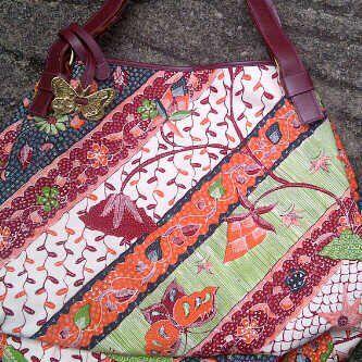 Hobo bag by Batik Chic
