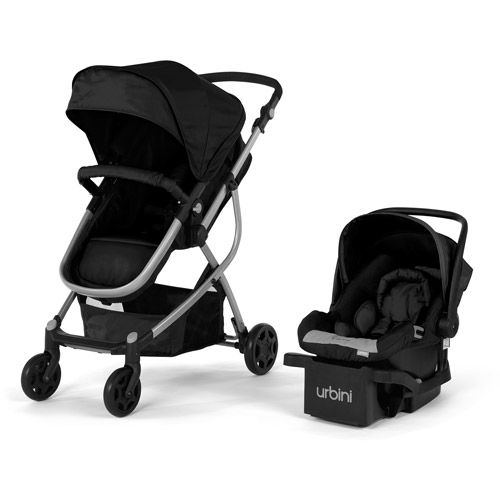 Urbini Omni 3 In 1 Travel System Black Car Seats Walmart
