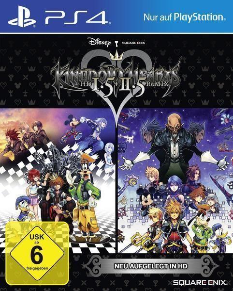 Kingdom Hearts HD 1.5 & 2.5 ReMIX für PlayStation 4 | eBay