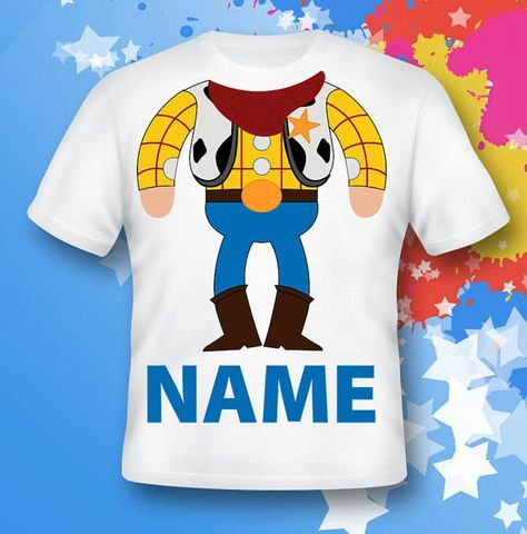 toy story Shirt.  Sheriff Woody Shirt.  toy story by leticiashop