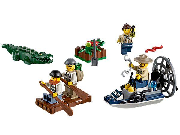 LEGO® City Swamp Police Starter Set 60066